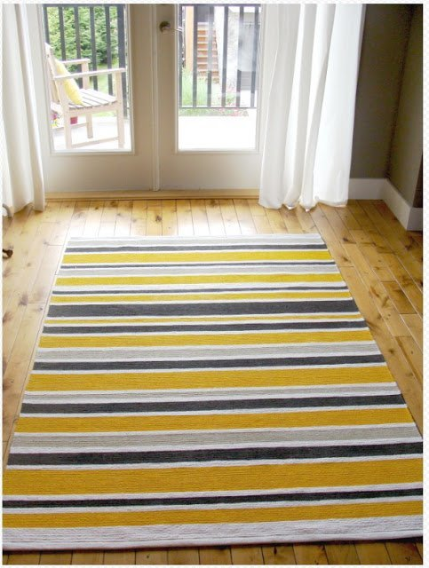 Chevron Rug Diy Ikea Hackers