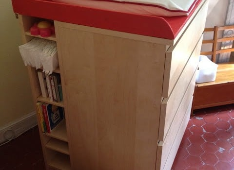 Malm Amp Benno Baby Changing Table Ikea Hackers Ikea Hackers