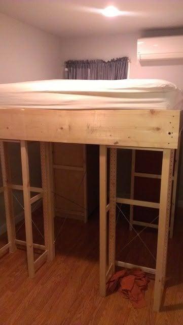 Ivar Aspelund Malm Loft Storage Bed Ikea Hackers