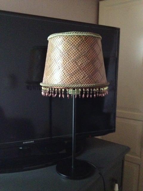 Ikea Table Lamp Base: Materials: Jara shade, Rodd table lamp base,Lighting