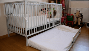 SNIGLAR+trundle+crib+2-796293