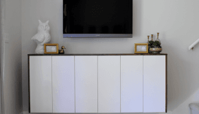 diy fauxdenza from ikea kitchen cabinets - Ikea Akurum Kitchen Cabinets