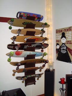Longboard And Skateboard Shelf Ikea Hackers Ikea Hackers