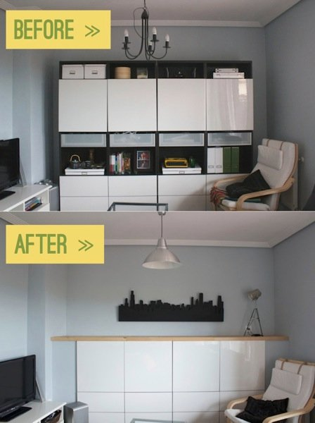 chopped up built in besta ikea hackers ikea hackers. Black Bedroom Furniture Sets. Home Design Ideas