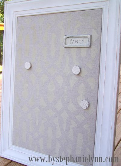 framed ikea magnetic spontan board make over ikea hackers ikea hackers. Black Bedroom Furniture Sets. Home Design Ideas
