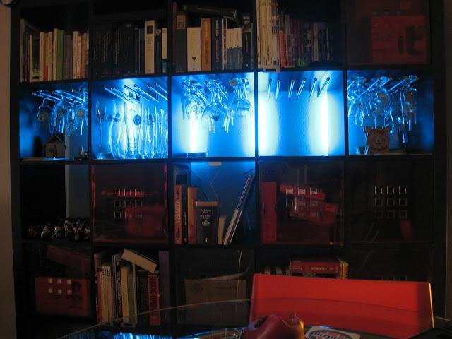 expedit glass holder ikea hackers. Black Bedroom Furniture Sets. Home Design Ideas