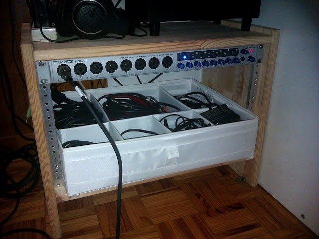 rast transformed in a 19 inch rack mount ikea hackers