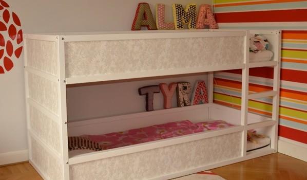 Girly Kura Bunk Bed Ikea Hackers Ikea Hackers