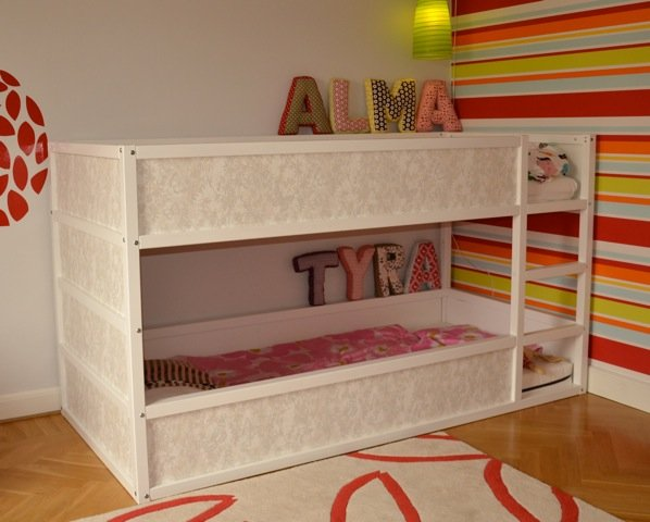 Superb Girly Kura bunk bed