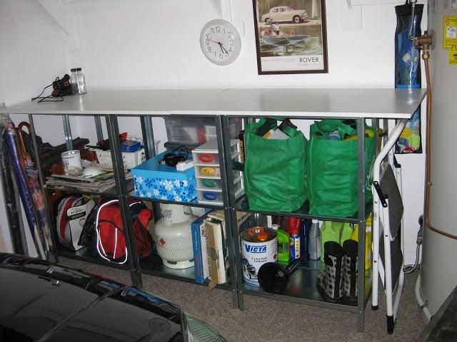 """Minimalist Garage Converted Into A Kitchen Ideas: Hyllis Garage """"Man Cave"""""""