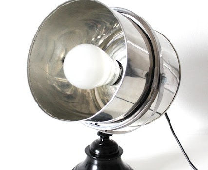 fr ck mirror tin can candlestick industrial style lamp ikea hackers ikea hackers. Black Bedroom Furniture Sets. Home Design Ideas