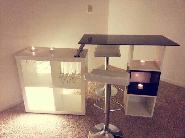 Expedit/Cubes Bar Table
