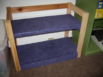 bunk beds for dolls or kitty cats ikea hackers