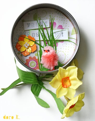 Tiny Easter diorama - a cute gift idea