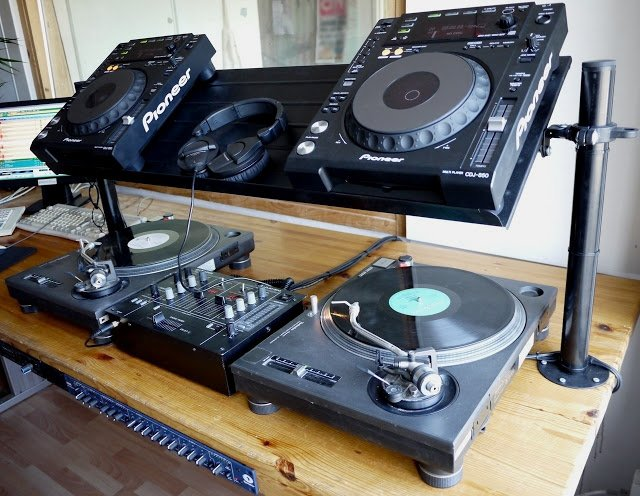 Ikea Shoe Rack Transformed Into Dj Furniture Ikea