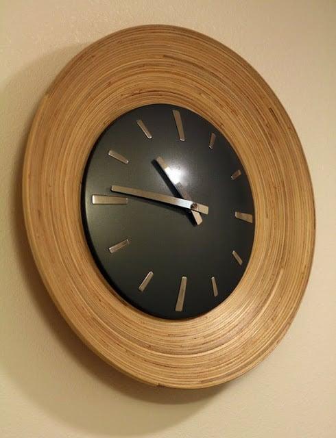 Hultet Framed Clock Ikea Hackers