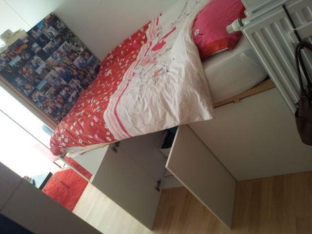 Faktum Cabinets Double Bed Ikea Hackers Ikea Hackers