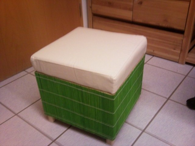 Foot Stool Cover