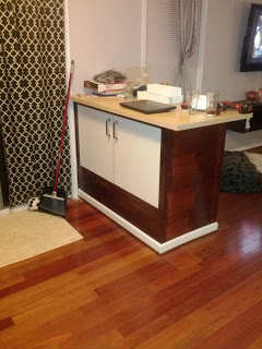Varde Sink Cabinet Becomes Breakfast Bar Ikea Hackers
