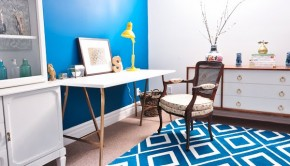 Bold Painted Rug