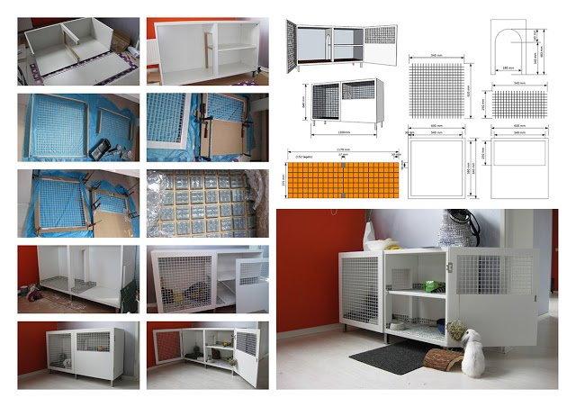 Rabbit hutch for Amigo by Evelien Lulofs