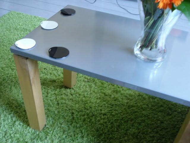 Ikea 39 s magnetic table diy ikea hackers ikea hackers for Magnetic board for kids ikea