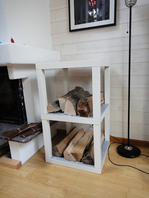 log rack no more lack of storage ikea hackers