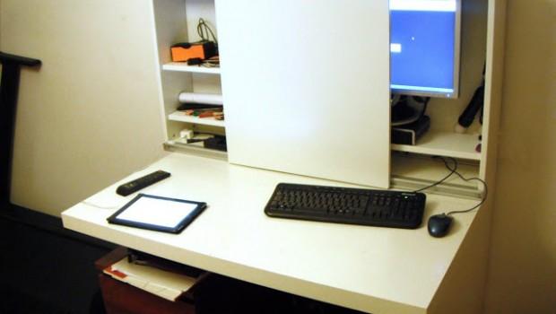 Besta expedit computer desk ikea hackers ikea hackers - Mueble malm ikea ...