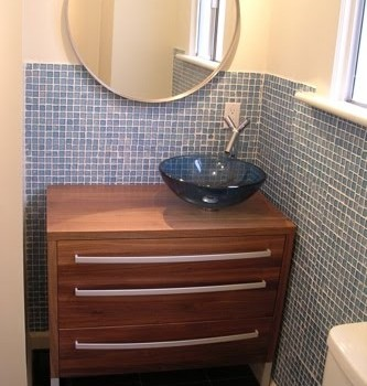 Bathroom Vanity From Chest Of Drawers Ikea Hackers
