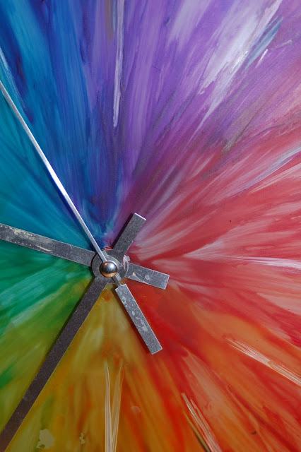 Color Wheel Sunburst Skoj Clock Ikea Hackers Ikea Hackers