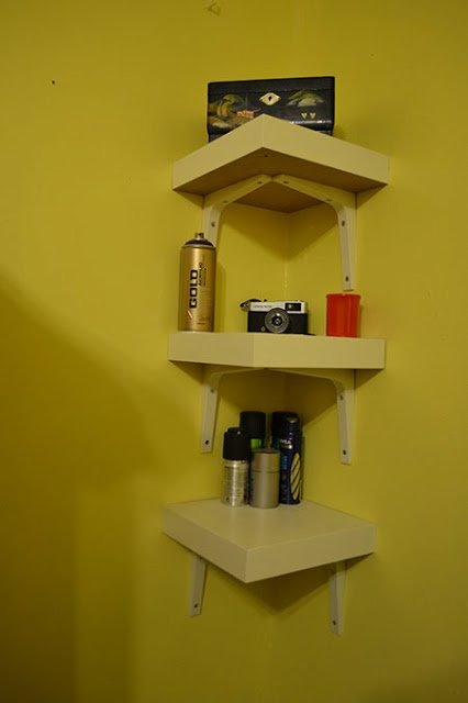 Lack Table Corner Shelf Hack Ikea Hackers