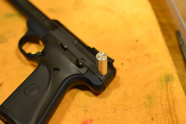 Browning/IKEA .22 Pistol Charging Handle Hack - IKEA Hackers