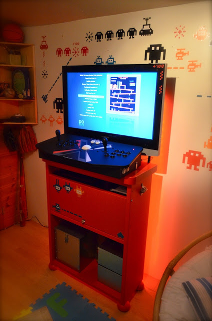 Mammut Retro Arcade Cabinet Ikea Hackers