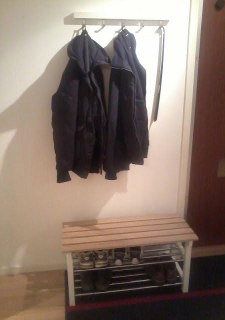 TJUSIG Shoe rack turned small bench IKEA Hackers IKEA Hackers