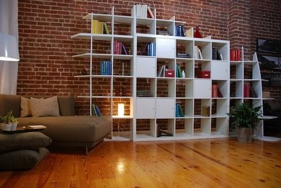 expedit storage and room divider from hgtv guy ikea hackers ikea hackers. Black Bedroom Furniture Sets. Home Design Ideas