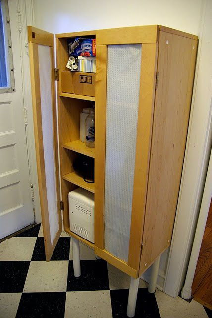 Kitchen Pantry From Scratch N Dent Cupboard Ikea Hackers