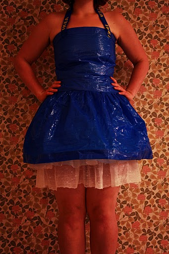 Ikea Blue Bag Dress Ikea Hackers Ikea Hackers