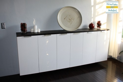 Custom bar from ikea kitchen cabinets ikea hackers - Buffet salle a manger ikea ...