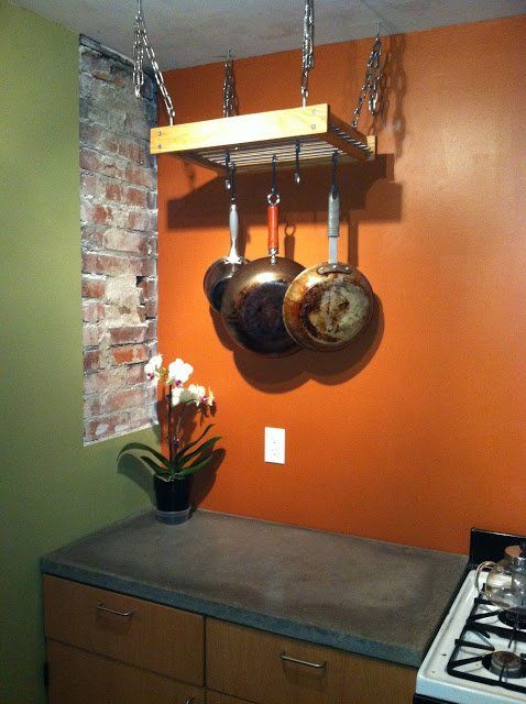 A Simple Hanging Pot Rack Hack Ikea Hackers Ikea Hackers