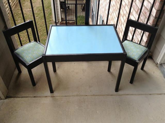 toddler patio set ikea hackers ikea hackers. Black Bedroom Furniture Sets. Home Design Ideas