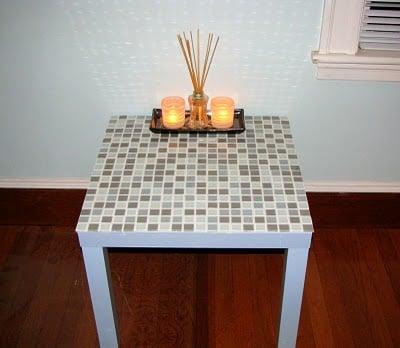 Tiling A Lack Side Table Ikea Hackers