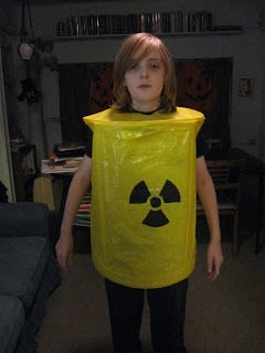 Halloween Costume Toxic Barrel Of Waste Ikea Hackers