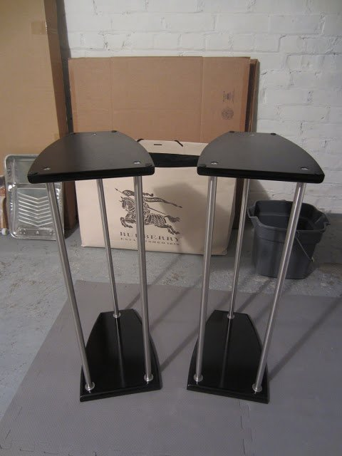 Grundtal Lightweight Speaker Stands 3 Different Sizes