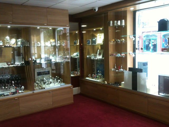 Pax wardrobe as jewellery shop display cabinets & Pax wardrobe as jewellery shop display cabinets - IKEA Hackers