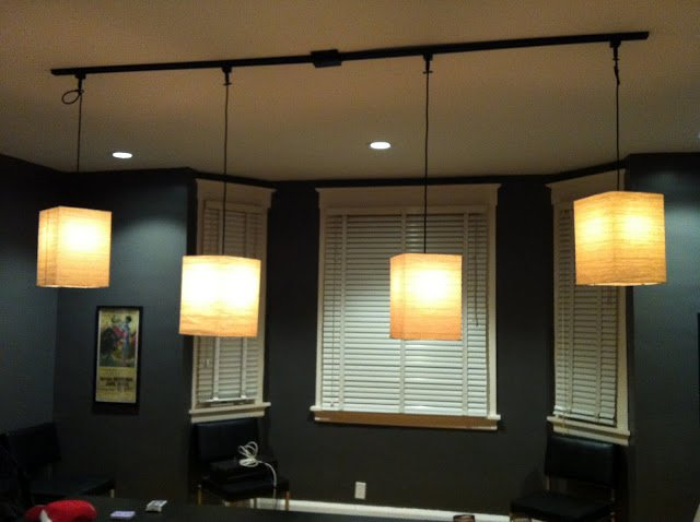 Track Lighting In Dining Room