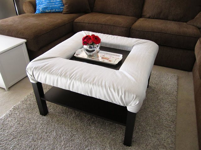 lack coffee table with footrest ikea hackers. Black Bedroom Furniture Sets. Home Design Ideas