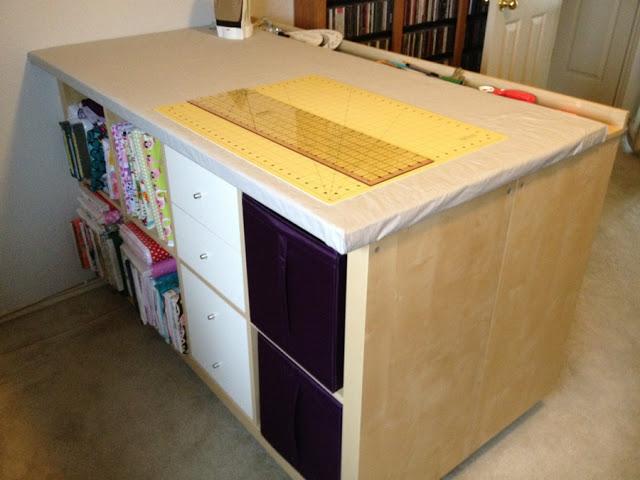 Kallax Room Divider Desk