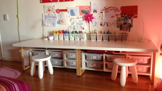 Toddler Desks Ikea Hackers Ikea Hackers