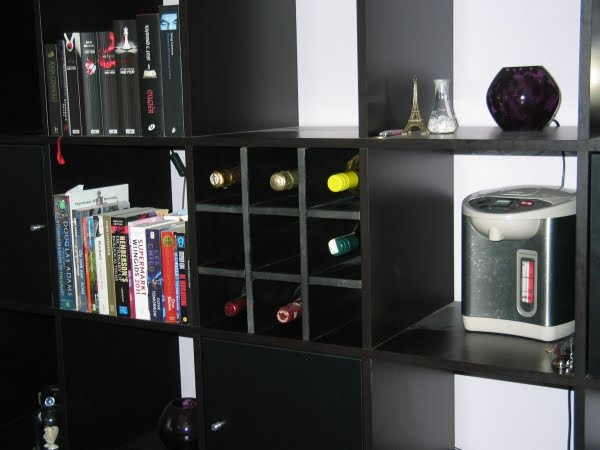 Expedit wine rack ikea hackers ikea hackers for Wine shelves ikea