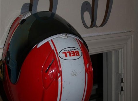 Motorcycle Helmet Hook Hack Ikea Hackers Ikea Hackers
